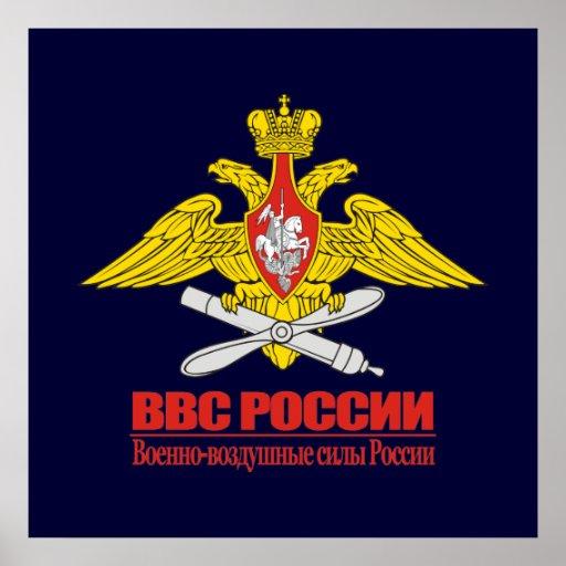 """Russian Air Force Emblem"" Posters"