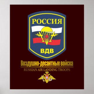 Russian Air-Landing Troops Poster