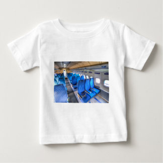 Russian Airliner Seating Baby T-Shirt