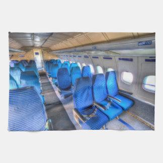 Russian Airliner Seating Tea Towel