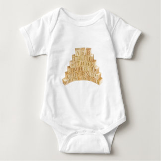 Russian Alphabet Letters, Cyrillic letters Baby Bodysuit