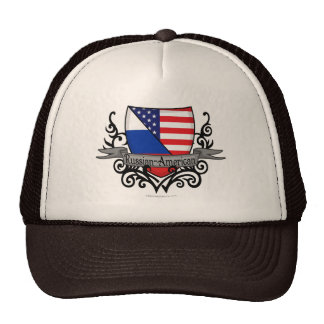 Russian-American Shield Flag Hat