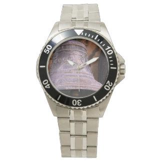 Russian Bell Photo Custom Stainless Steel Bracelet Watch