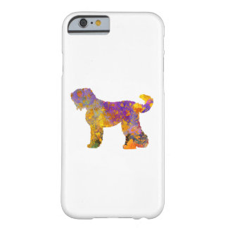 Russian Black Terrier 01 in watercolor 2 Barely There iPhone 6 Case