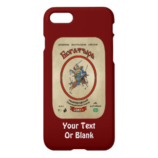 Russian Bogatyr Beer iPhone 7 Case