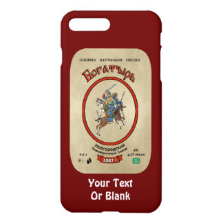 Russian Bogatyr Beer iPhone 7 Plus Case