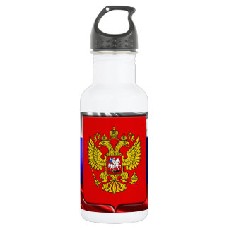 Russian Coat of arms 532 Ml Water Bottle