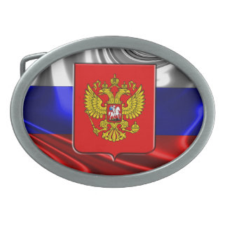 Russian Coat of arms Belt Buckle
