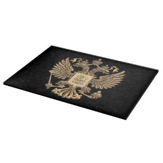 Russian Coat of arms Cutting Board
