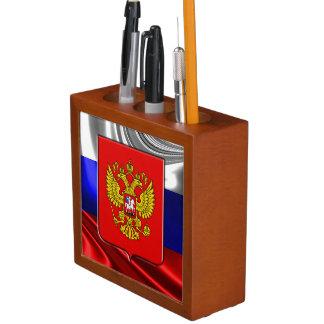Russian Coat of arms Desk Organiser