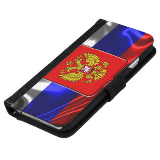 Russian Coat of arms iPhone 6 Wallet Case