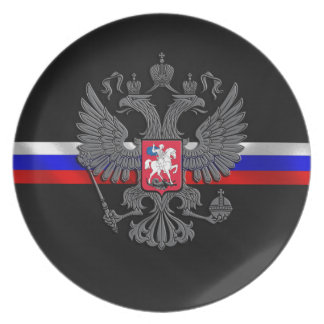 Russian Coat of arms Party Plate