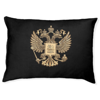 Russian Coat of arms Pet Bed