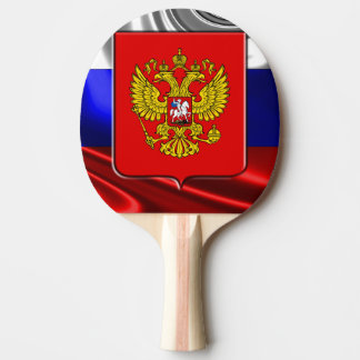 Russian Coat of arms Ping Pong Paddle