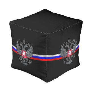 Russian Coat of arms Pouf