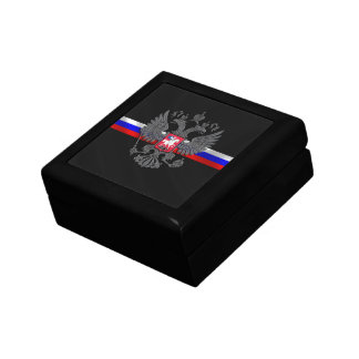 Russian Coat of arms Small Square Gift Box