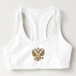 Russian Coat of arms Sports Bra