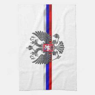 Russian Coat of arms Tea Towel