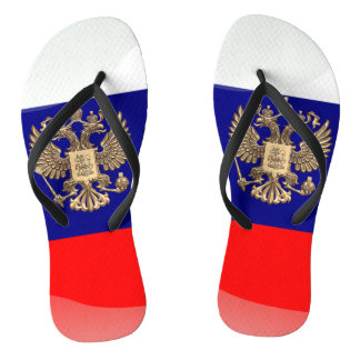 Russian Coat of arms Thongs