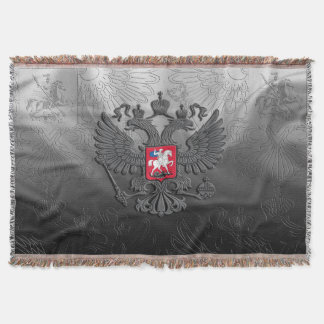 Russian Coat of arms Throw Blanket