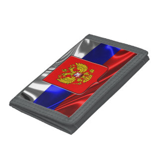 Russian Coat of arms Tri-fold Wallet