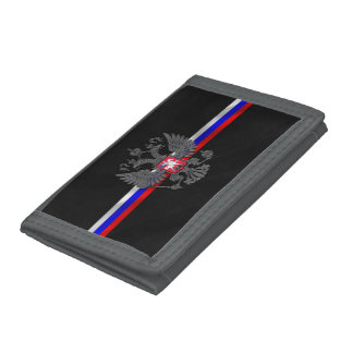 Russian Coat of arms Trifold Wallet