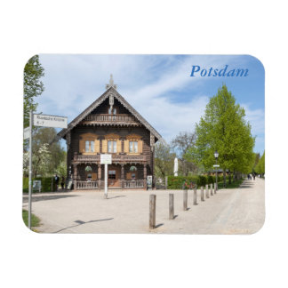 Russian Colony Alexandrowka Rectangular Photo Magnet