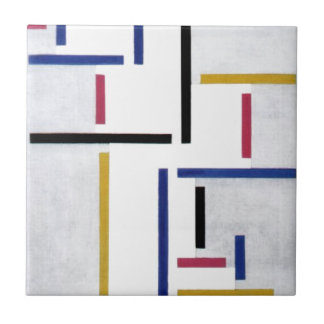 Russian Dance by Theo van Doesburg Tile