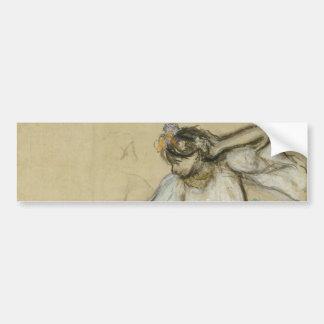 Russian Dancer by Edgar Degas Bumper Sticker
