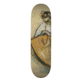 Russian Dancer by Edgar Degas Skate Board Deck