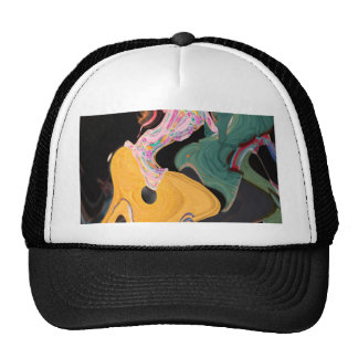 Russian dancers abstract cap