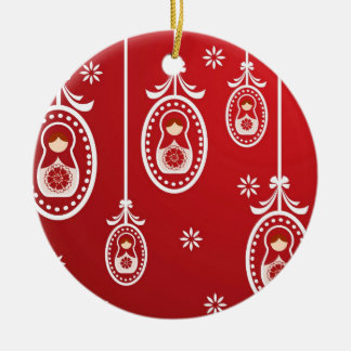 Russian Doll Babushka Hanging Decoration