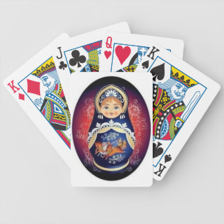 Russian Doll Babushka Playing Cards