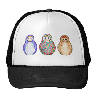 Russian dolls cap