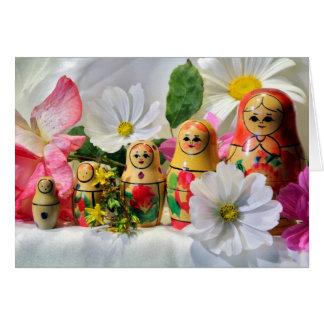 Russian Dolls Card