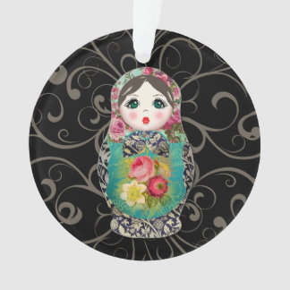 Russian Dolls Christmas Baby's First Ornament