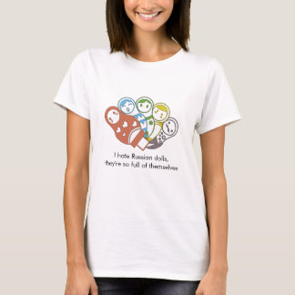 Russian Dolls | Colourful | T-Shirt