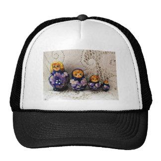 Russian dolls hats