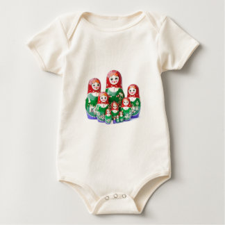 Russian Dolls Matryoshka - матрёшка Bodysuit
