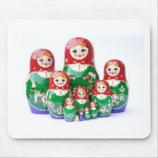 Russian Dolls Matryoshka - матрёшка Mouse Pad
