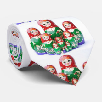 Russian Dolls Matryoshka - матрёшка Tie