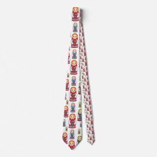 Russian Dolls menswear mens necktie neck tie