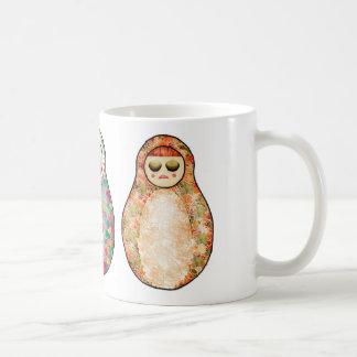 Russian dolls coffee mugs