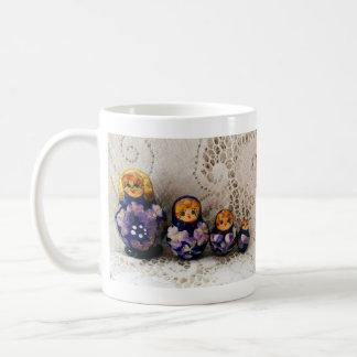 Russian dolls mugs