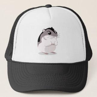 Russian Dwarf Hamster Cartoon Trucker Hat