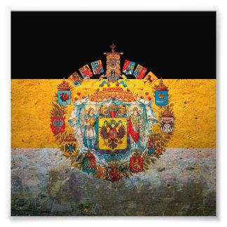 Russian Empire Flag Art Photo