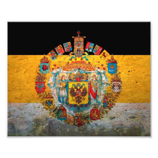 Russian Empire Flag Photo Art