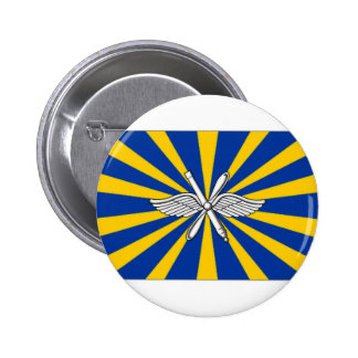 Russian Federation Air Force Flag Button