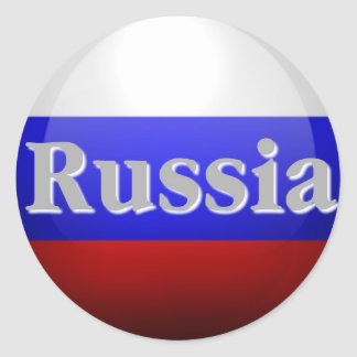 Russian Federation Classic Round Sticker