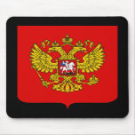 Russian Federation Coat of Arms Mouse Pad